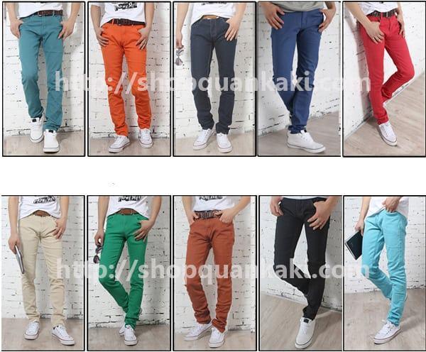 Cách chọn quần kaki cho nam