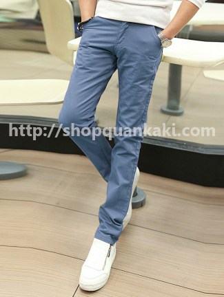 Mẫu quần kaki nam ống côn của shop quần kaki online