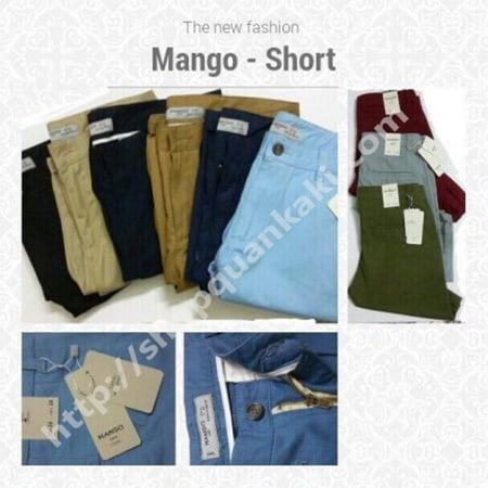 Quần short kaki Mango