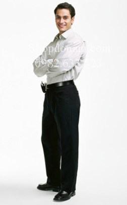 quần tây đen