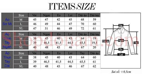 Cách chọn size quần áo cho nam giới-3