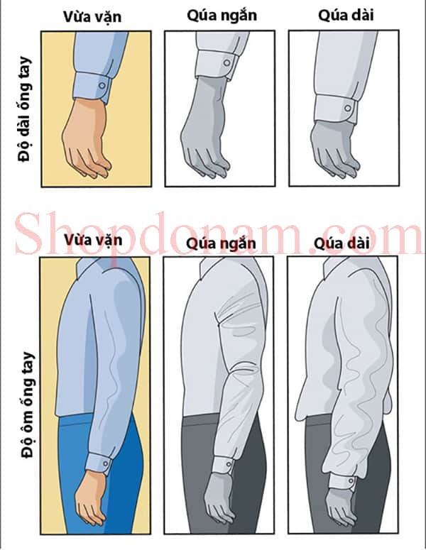 Cách chọn size quần áo cho nam giới