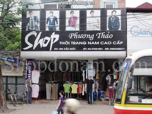 shop thời trang nam tại Hà Nội