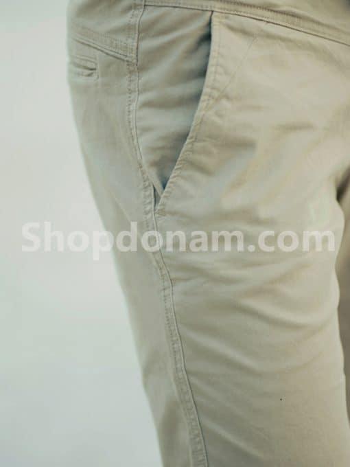 Quần kaki nam Hàn Quốc màu nâu QK149-2