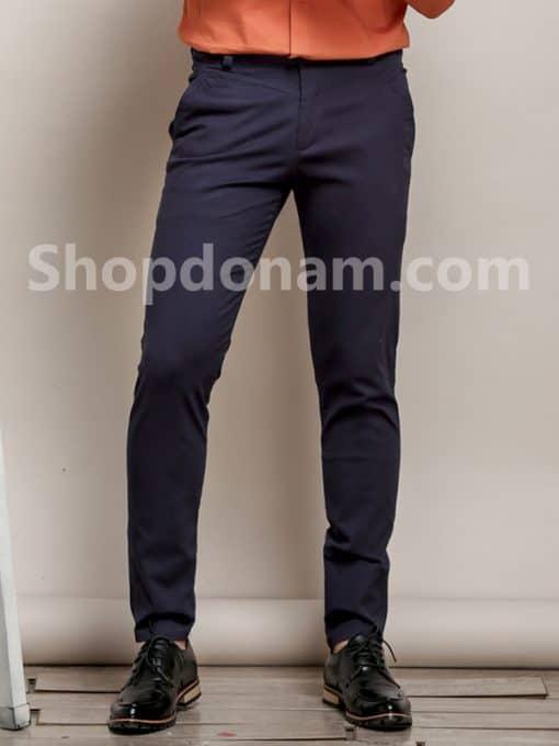 Quần kaki nam Hàn Quốc màu xanh đen QK149-2
