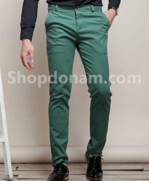 Quần kaki nam Hàn Quốc màu xanh QK149-3