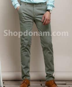 Quần kaki nam Hàn Quốc màu xanh rêu QK149-1
