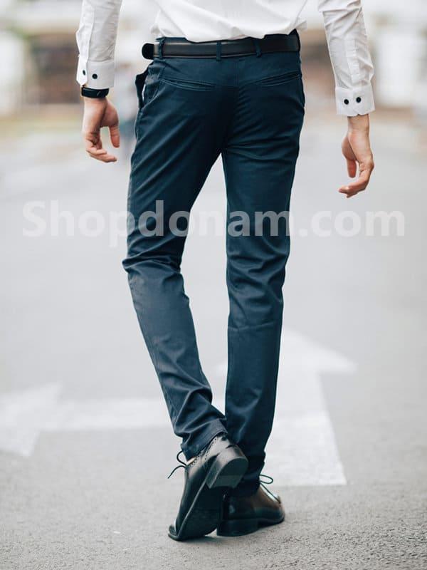 Quần kaki nam màu xanh đen QK161-1